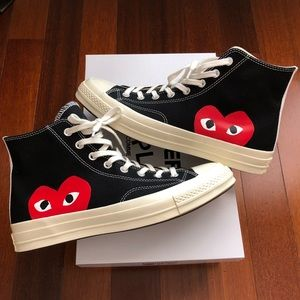 Comme Des Garcons PLAY X Converse All-Star 70s Hi